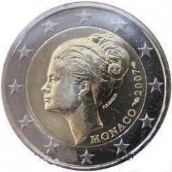 Moneda > 2euros, 2007 - Mónaco  (25 aniversario - Muerte de la Princesa Grace) - obverse