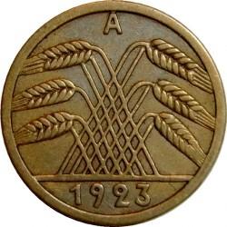 Moneda > 5rentenpfennig, 1923-1924 - Alemania  - obverse
