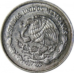 Moneta > 5sentavai, 1992-2002 - Meksika  - reverse