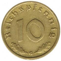 العملة > 10رايخبفنغ, 1936-1939 - ألمانيا الرايخ الثالث  - reverse