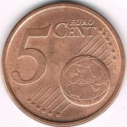 Pièce > 5cents, 2002-2017 - Italie  - reverse