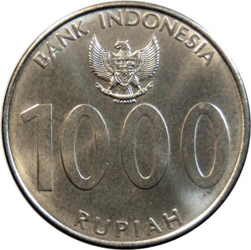 "INDONESIA 1000 RUPIAH 2010 /""ANGKLUNG/"" UNC"