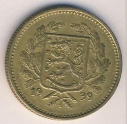 Münze > 5Mark, 1939 - Finnland  - obverse