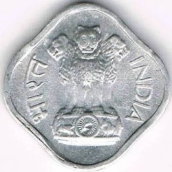 Moneta > 1paisa, 1965-1981 - Indie  - obverse