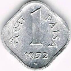 Moneta > 1paisa, 1965-1981 - Indie  - reverse