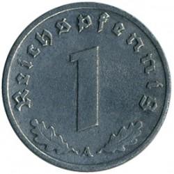 Moneta > 1reichspfennig, 1940-1945 - Niemcy - Trzecia Rzesza  - reverse