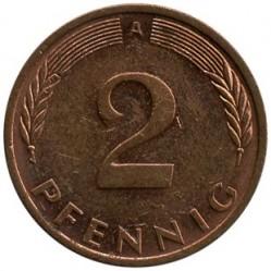 Münze > 2Pfennig, 1992 - Deutschland  - reverse