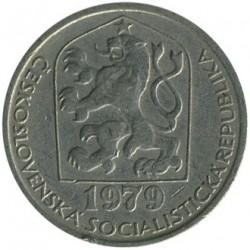 Moneta > 50halerzy, 1978-1990 - Czechosłowacja  - obverse