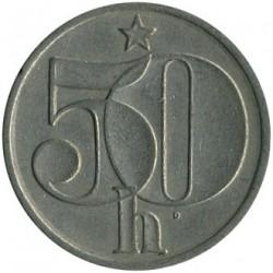Moneta > 50halerzy, 1978-1990 - Czechosłowacja  - reverse