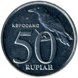 Pièce > 50roupies, 1999-2002 - Indonésie  - reverse