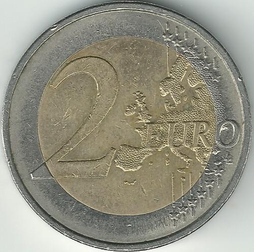2 Euro 2007 Mecklenburg Vorpommern Deutschland Münzen Wert