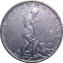 Moneta > 2½liros, 1960-1968 - Turkija  - obverse