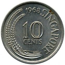 Moneta > 10centesimi, 1967-1984 - Singapore  - obverse