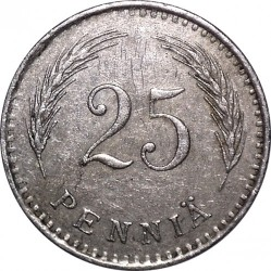 Moneta > 25pensai, 1921-1940 - Suomija  - obverse