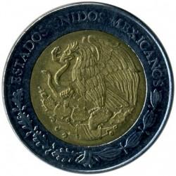 Coin > 5pesos, 2010 - Mexico  (Centenary of Revolution - Emiliano Zapata) - obverse