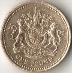 Moneta > 1svaras, 1998-2008 - Jungtinė Karalystė  - reverse