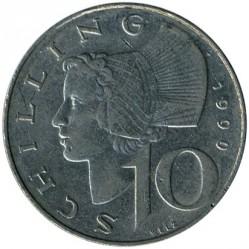 سکه > 10شیلینگ, 1974-2001 - اتریش   - reverse