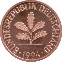 Münze > 2Pfennig, 1994 - Deutschland  - obverse