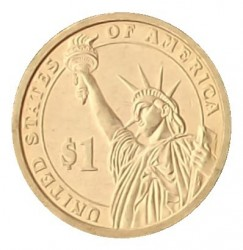 Coin > 1 dollar, 2011 - USA  (President of the USA - Andrew Johnson (1865-1869)) - obverse
