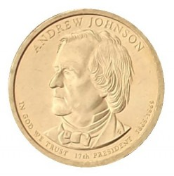 Münze > 1 Dollar, 2011 - USA  (President of the USA - Andrew Johnson (1865-1869)) - reverse