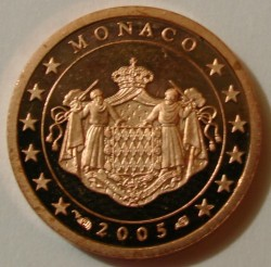 Monēta > 1cents, 2001-2005 - Monako  - obverse