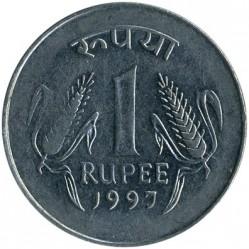 Moneda > 1rupia, 1995-2004 - India  - reverse