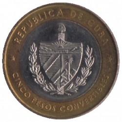 Moneta > 5pesos, 1999 - Kuba  - reverse