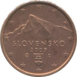 Монета > 2євроценти, 2009-2018 - Словаччина  - obverse