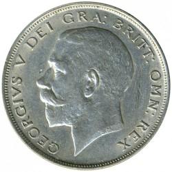 Minca > ½crown, 1920-1926 - Veľká Británia  - obverse