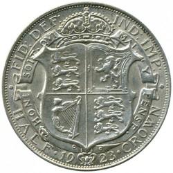 Minca > ½crown, 1920-1926 - Veľká Británia  - reverse