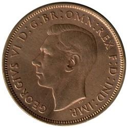 錢幣 > 1便士, 1937-1948 - 英國  - obverse