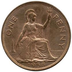 錢幣 > 1便士, 1937-1948 - 英國  - reverse