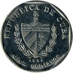 Coin > 10centavos, 1994-2018 - Cuba  - obverse