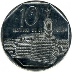Coin > 10centavos, 1994-2018 - Cuba  - reverse