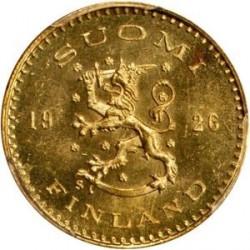 Münze > 100Mark, 1926 - Finnland  - obverse