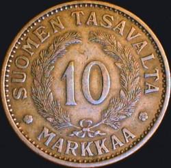 Münze > 10Mark, 1931 - Finnland  - reverse