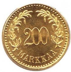 Münze > 200Mark, 1926 - Finnland  - reverse