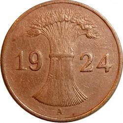 Moneda > 1rentenpfennig, 1923-1929 - Alemania  - obverse