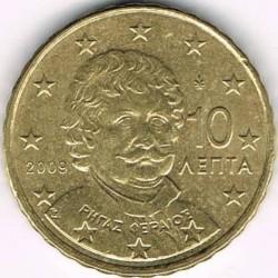 Монета > 10євроцентів, 2007-2018 - Греція  - obverse