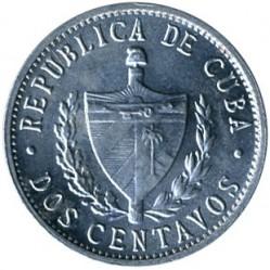 سکه > 2سنتاوو, 1983-2010 - کوبا  - obverse