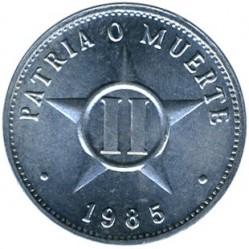 سکه > 2سنتاوو, 1983-2010 - کوبا  - reverse