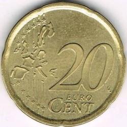 Монета > 20євроцентів, 1999-2006 - Іспанія  - obverse