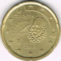 Монета > 20центів, 1999-2006 - Іспанія  - reverse