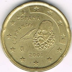 Монета > 20євроцентів, 1999-2006 - Іспанія  - reverse