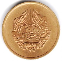 Coin > 3bani, 1952 - Romania  - obverse