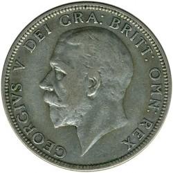 Minca > 2shillings(florin), 1927-1936 - Veľká Británia  - obverse