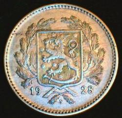 Münze > 5Mark, 1928 - Finnland  - obverse