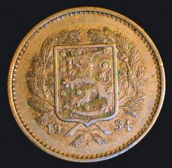 Münze > 10Mark, 1934 - Finnland  - obverse