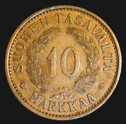 Münze > 10Mark, 1934 - Finnland  - reverse