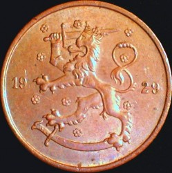 Münze > 5Penny, 1929 - Finnland  - obverse